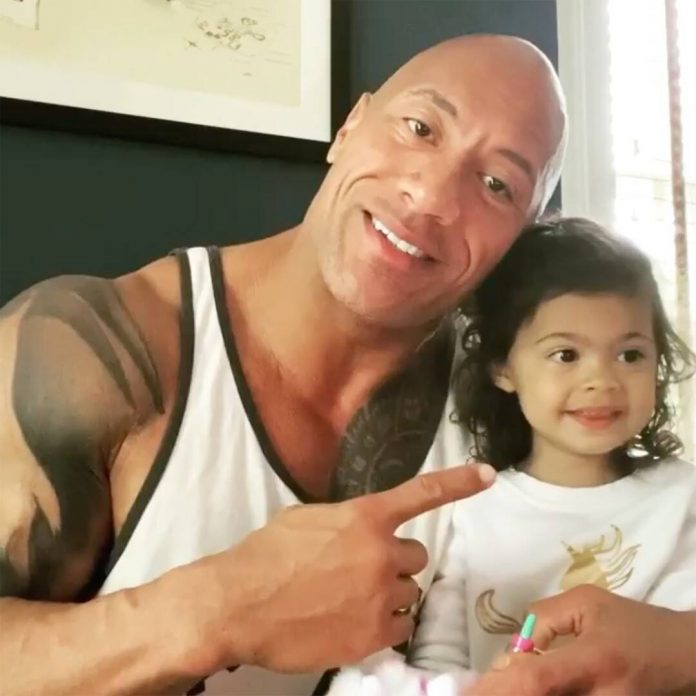 Dwayne Johnson Says Daughter Helped Moana Song Hit Milestone - E! Online
