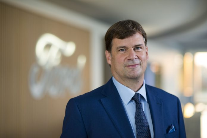 Ford's new CEO promises investors more transparency, reports October sales declined 6.1%