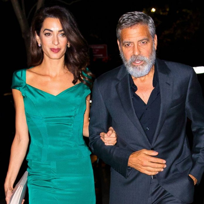"George Clooney Shares How His Wife Amal ""Changed Everything"" for Him - E! Online"