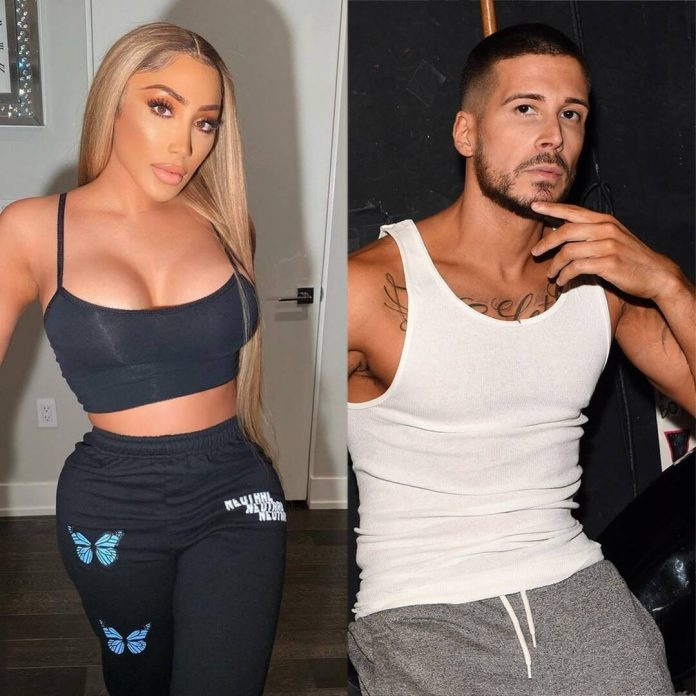 Jersey Shore's Vinny Spotted With Love & Hip Hop Star - E! Online