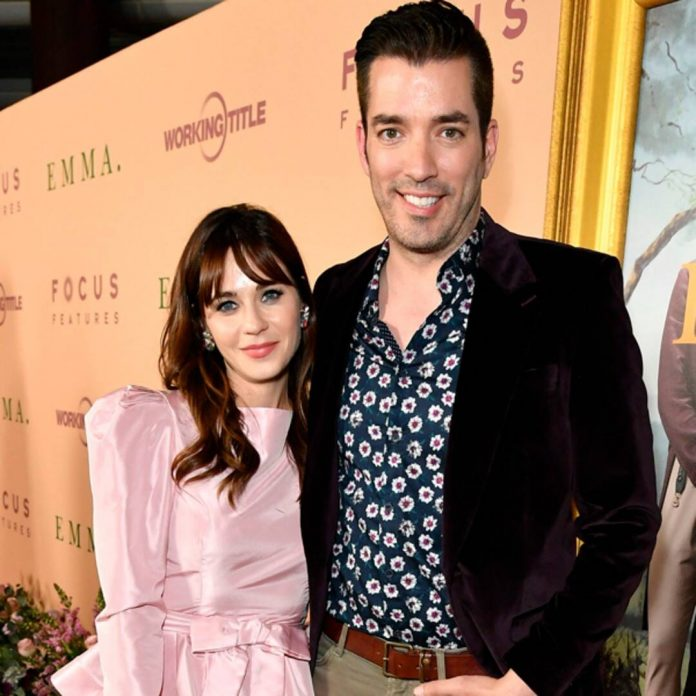 Jonathan Scott Responds Perfectly to Zooey Deschanel Engagement Rumors - E! Online