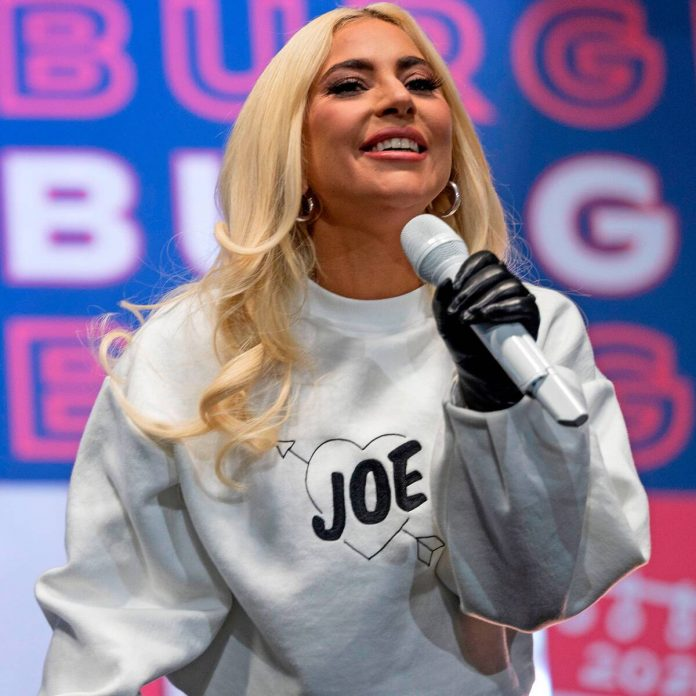 Lady Gaga Shouts Out Ex Taylor Kinney During Biden Campaign Rally - E! Online