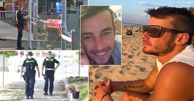 Man stabbed to death 'with broken bottle' after 'defending girlfriend from yobs'