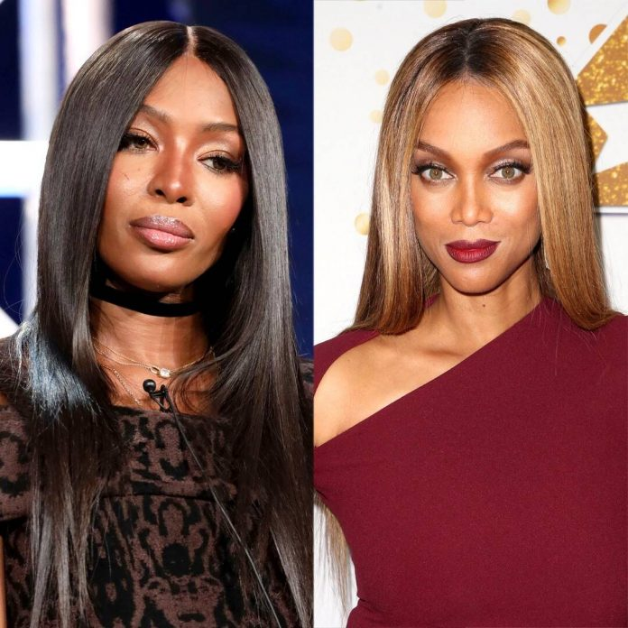 Naomi Campbell's Latest Post Hints Tyra Banks Is