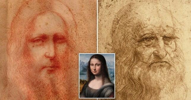Sketch of Christ thought to be a Da Vinci masterpiece (credit Leonardo da Vinci International)