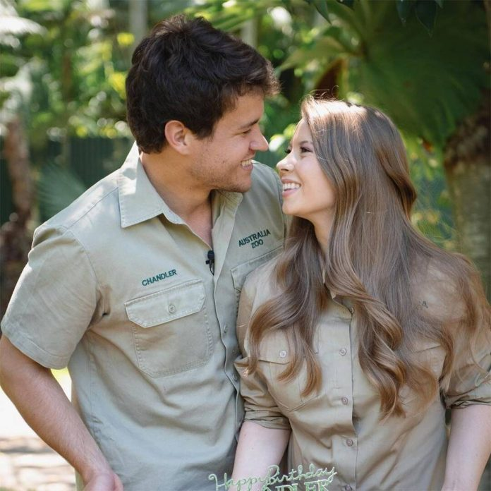 Pregnant Bindi Irwin's Husband Thanks Her & Baby for B-Day Surprise - E! Online