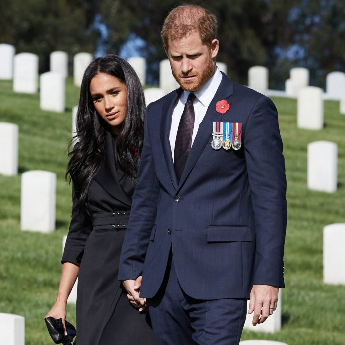 Prince Harry Marks Remembrance Day After Palace Denies Wreath Request - E! Online