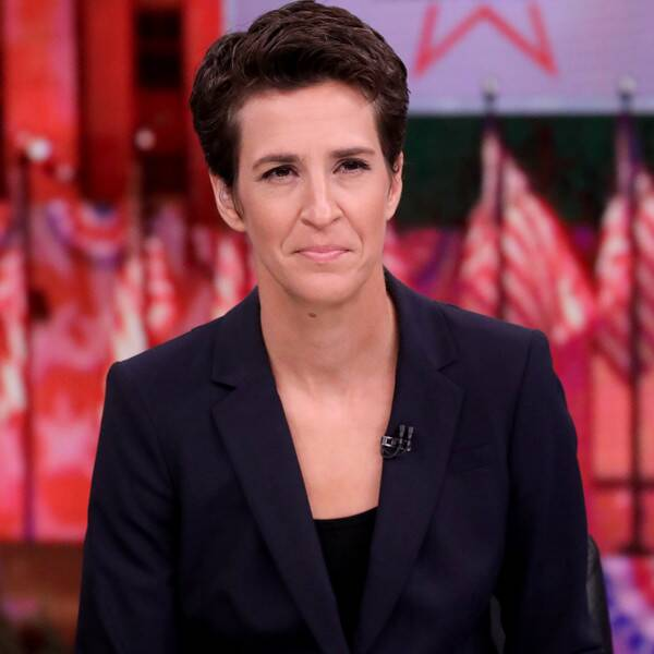 Rachel Maddow to Miss Election Coverage After Possible COVID Exposure - E! Online