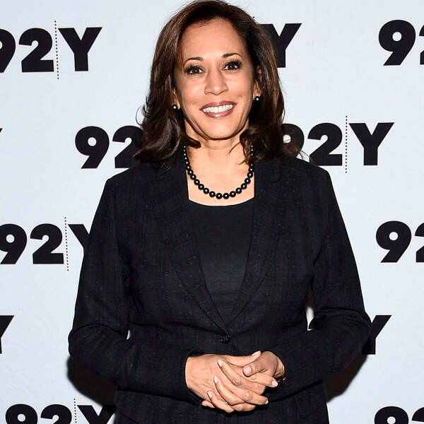 See Kamala Harris Share a Heartwarming Moment With Her Great Niece - E! Online
