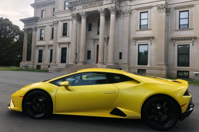 The 2020 Lamborghini EVO RWD is the most fun for the least amount of money at a starting price of $208,000
