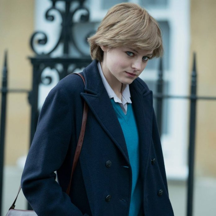 The Crown's Emma Corrin Was Scared to Play Princess Diana - E! Online