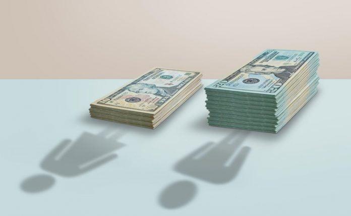 US Currency gender pay gap