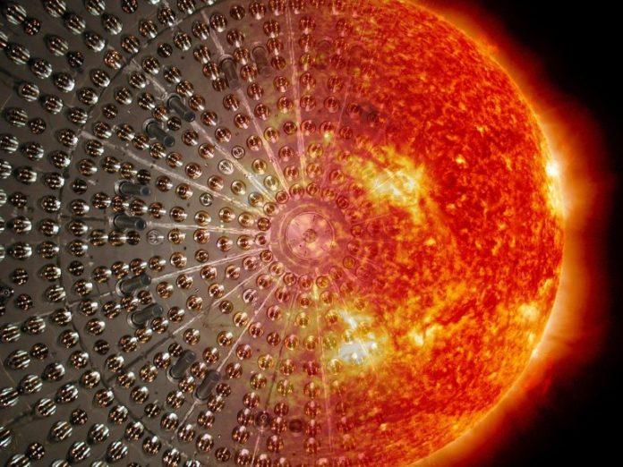 Borexino Detector Sun