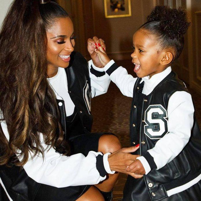 Watch Ciara's Daughter React to Kamala Harris' Vice Presidential Win - E! Online