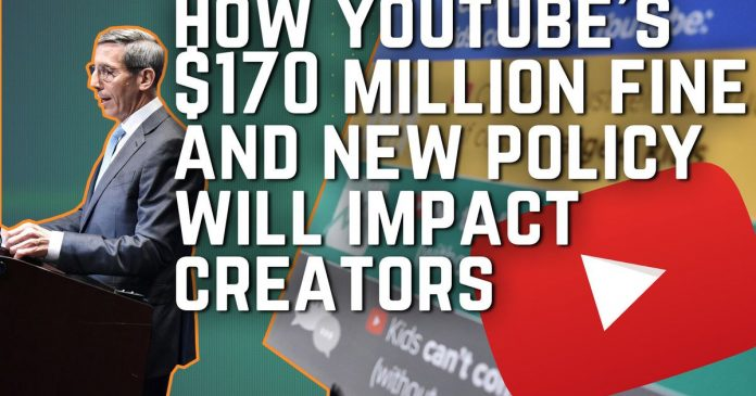 YouTube smacked with record $170M fine over children's privacy law (The Daily Charge, 9/4/2019) - Video