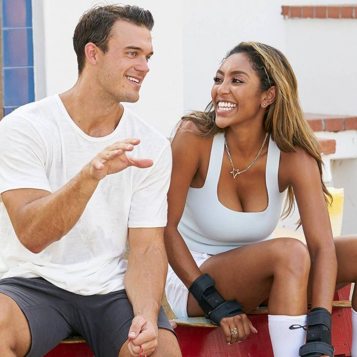 Bachelorette's Ben Smith Gets Candid About Tayshia's Engagement - E! Online
