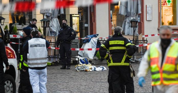 Crash in German city of Trier leaves five dead, including a 9-month-old