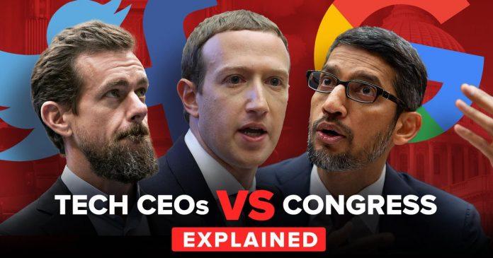 Facebook, Twitter and Google face Congress over free speech - Video