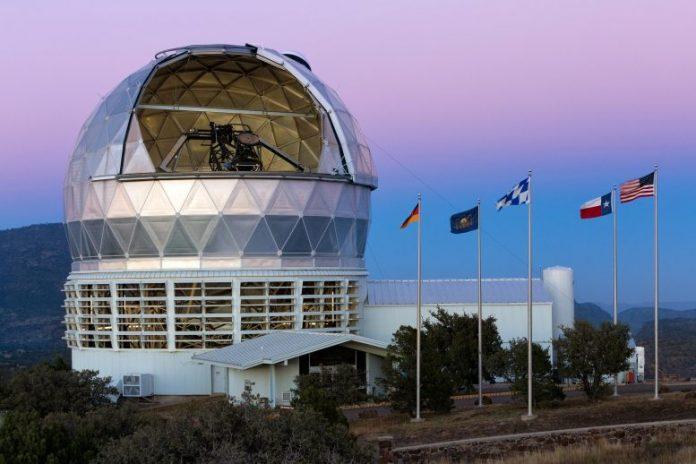 Hobby-Eberly Telescope at Dusk