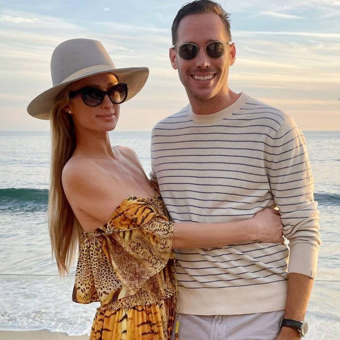 Paris Hilton Celebrates First Anniversary With Boyfriend Carter Reum - E! Online
