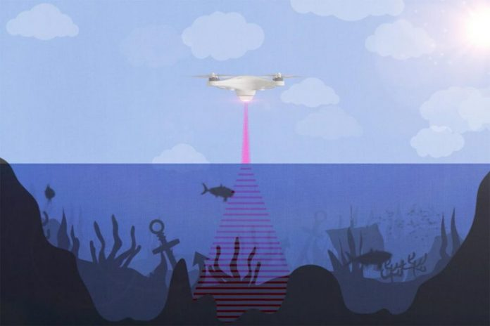 Photoacoustic Airborne Sonar System