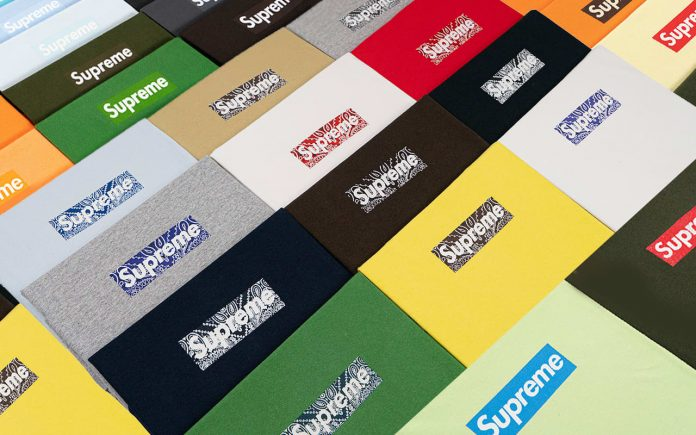 Supreme T-shirt collection on sale by Christie's for about $2 million
