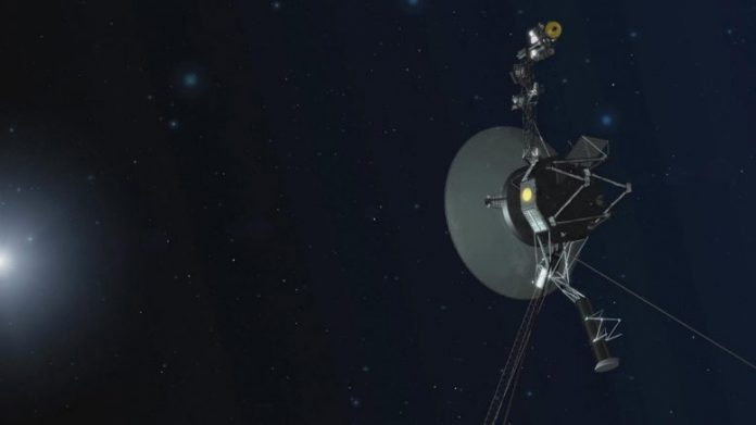 NASA Voyager Spacecraft Entering Interstellar Space