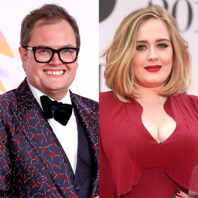 Adele's Friend Alan Carr Confirms ''Amazing'' New Music Is Coming - E! Online