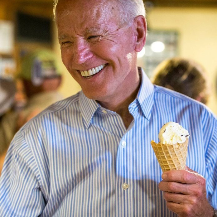 All the Times Joe Biden's Love for Ice Cream Melted Our Hearts - E! Online