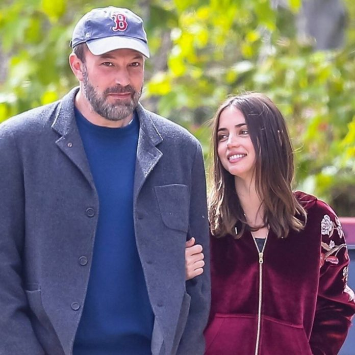 Ana de Armas Looks Back on Those Mid-Pandemic Strolls With Ben Affleck - E! Online