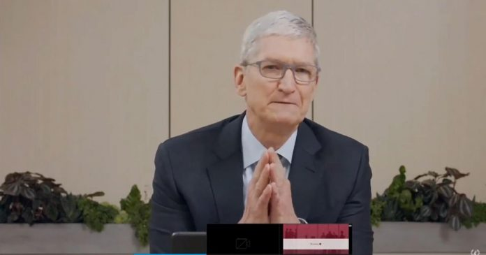 Apple's Tim Cook says company faces fierce competition from Samsung, Huawei and more - Video