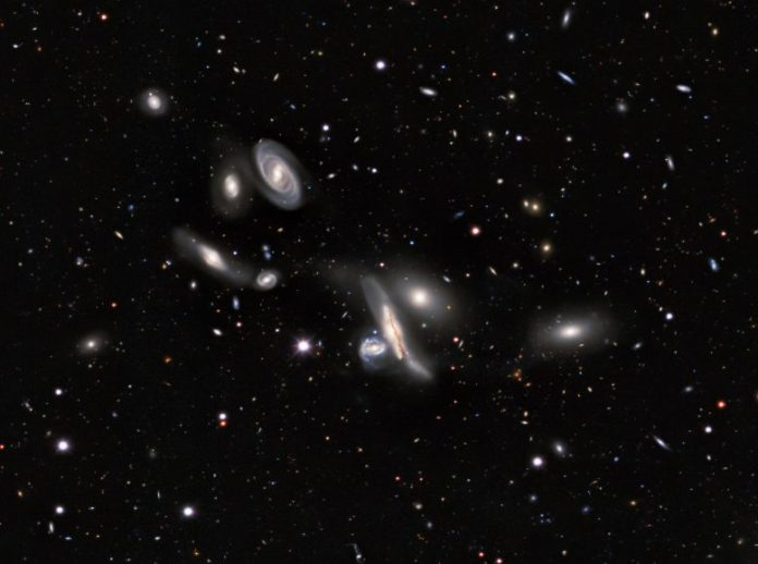 Copeland Septet Group of Galaxies