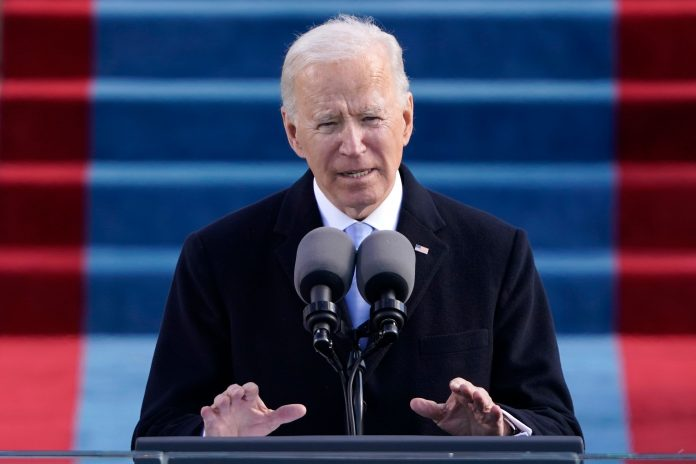 Biden inaugural address used word 'democracy' more than any other president's