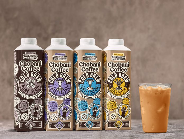 Chobani debuts cold brew coffee drinks in further push beyond yogurt