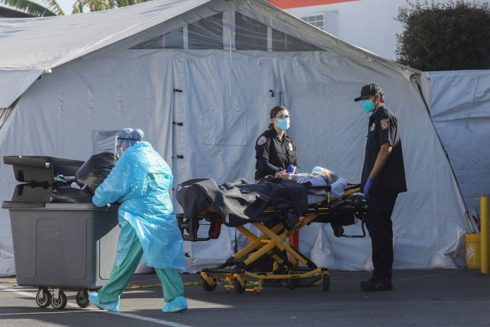 Covid kills someone every 15 minutes in LA County, forcing 'tough decisions'