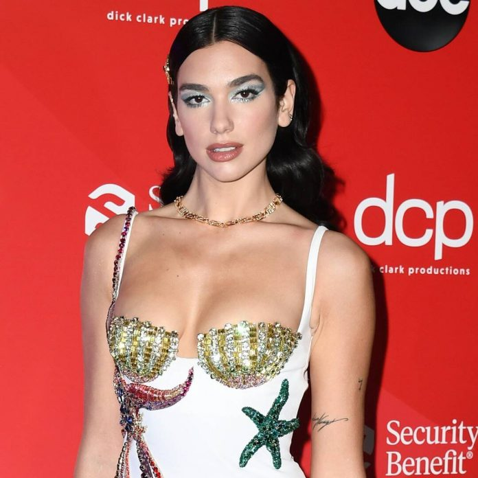 Dua Lipa Kisses Her Signature Brown Hair Goodbye With Blonde 'Do - E! Online