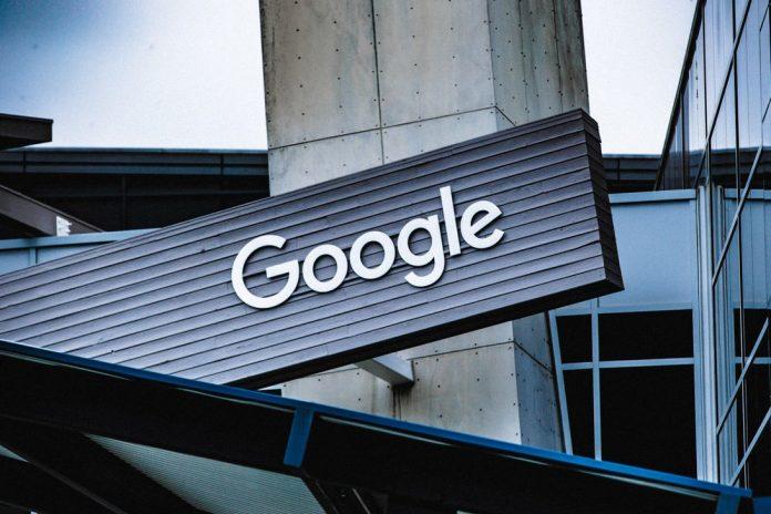 Google signage