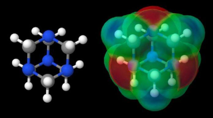 Hexamethylenetetramine Structure