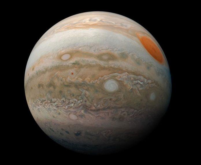 Juno Finds Changes in Jupiter's Magnetic Field