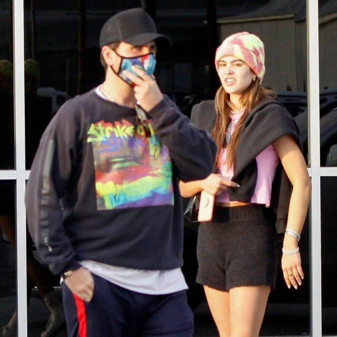 Scott Disick and Amelia Hamlin Return Home After New Year's Getaway - E! Online