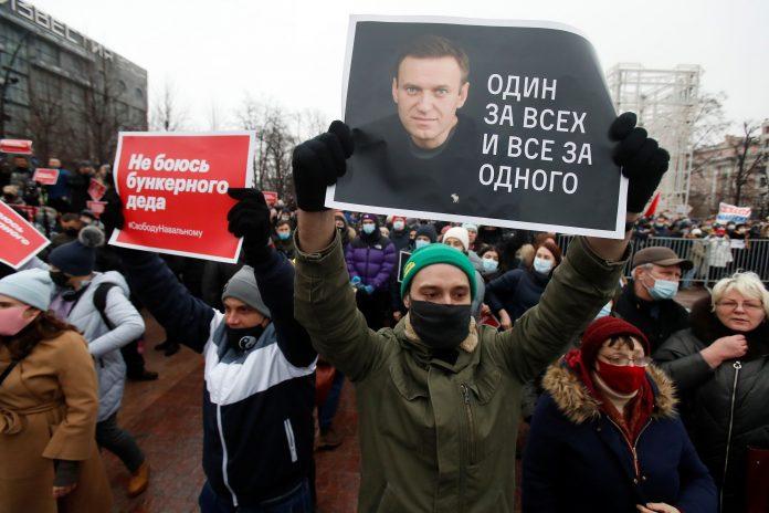 Secretary of State Blinken takes aim at Russia's treatment of opposition leader Navalny