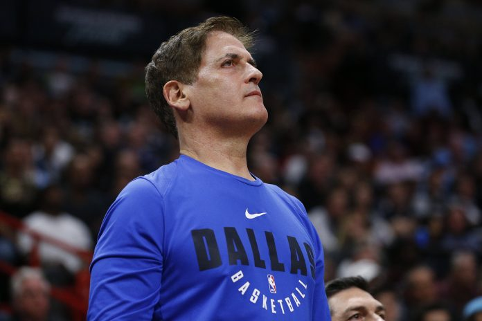 Dallas Mavericks stop playing national anthem before home games at the direction of owner Mark Cuban