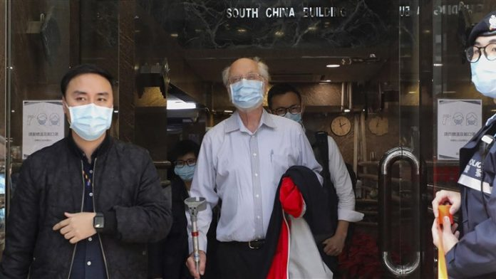 Dozens of pro-democracy activists detained and charged with subversion in Hong Kong