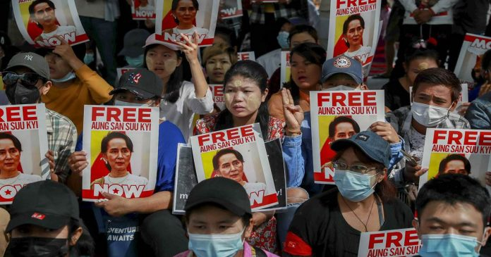 Facebook bans Myanmar military from its platforms as violent protests continue