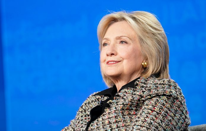 Hillary Clinton writing a novel that reckons with a post-Trump world