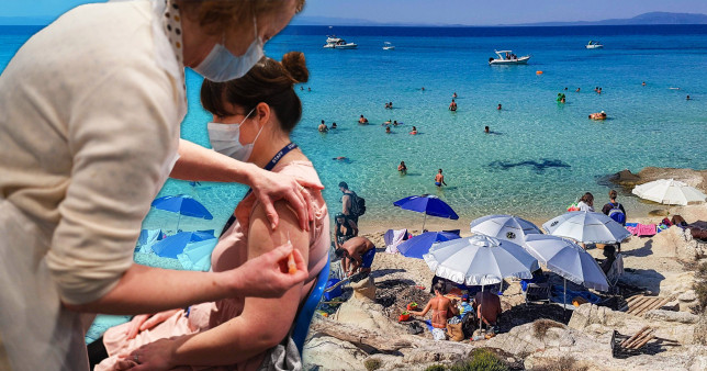 Hope for holidays grows as Greece says no testing needed if you have a vaccine