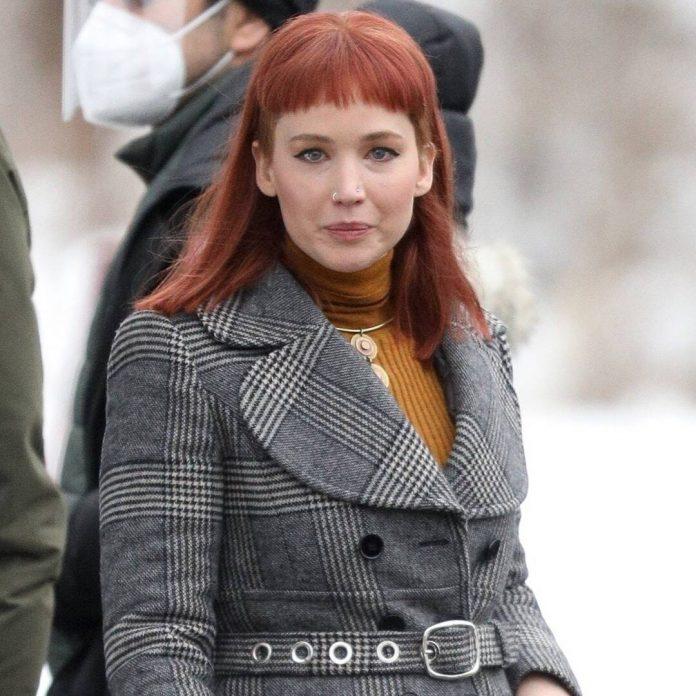Jennifer Lawrence Injured By Shattered Glass On Movie Set - E! Online