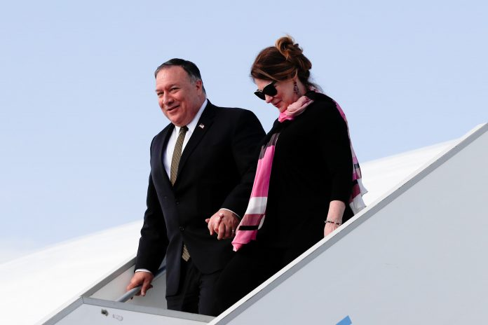 Mike Pompeo spent taxpayer funds on pens made in China for elite dinners