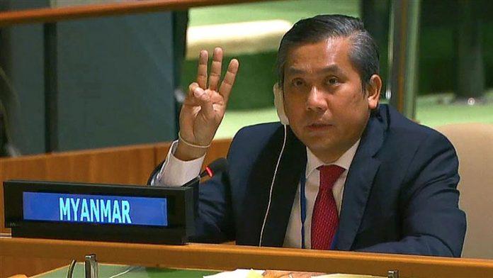 Myanmar police crank up pressure on protests after envoy calls for international action