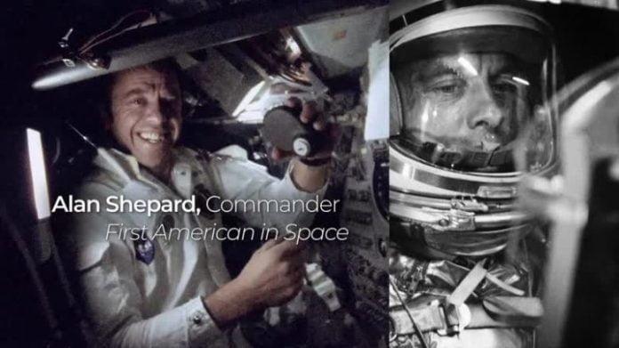 Alan Shepard First American in Space